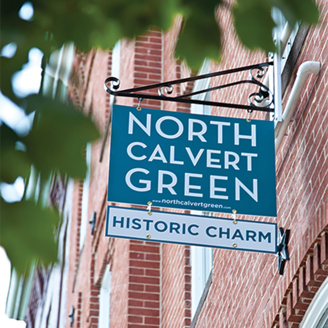 North Calvert Green