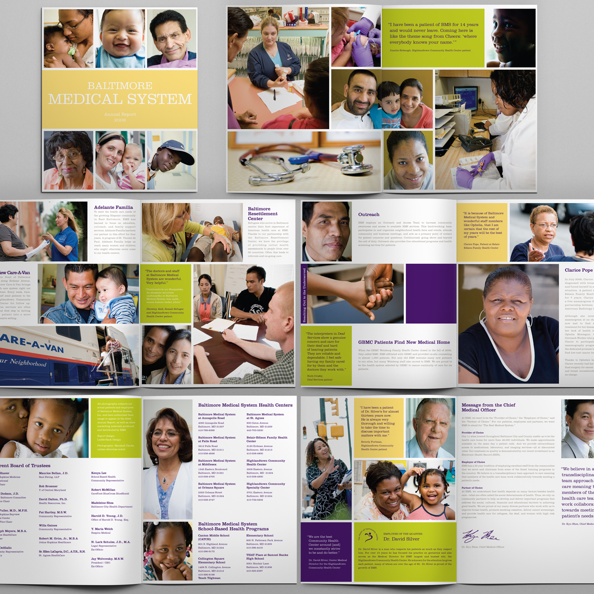 Annual Report for Baltimore Medical System